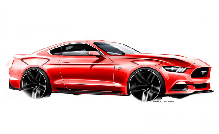 01-Ford-Mustang-Design-Sketch-by-Kemal-Curic-07-720x440