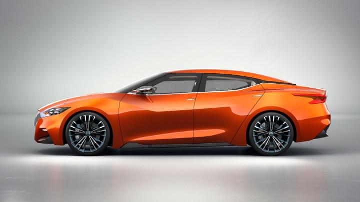 Nissan spot sedan concept zijkant