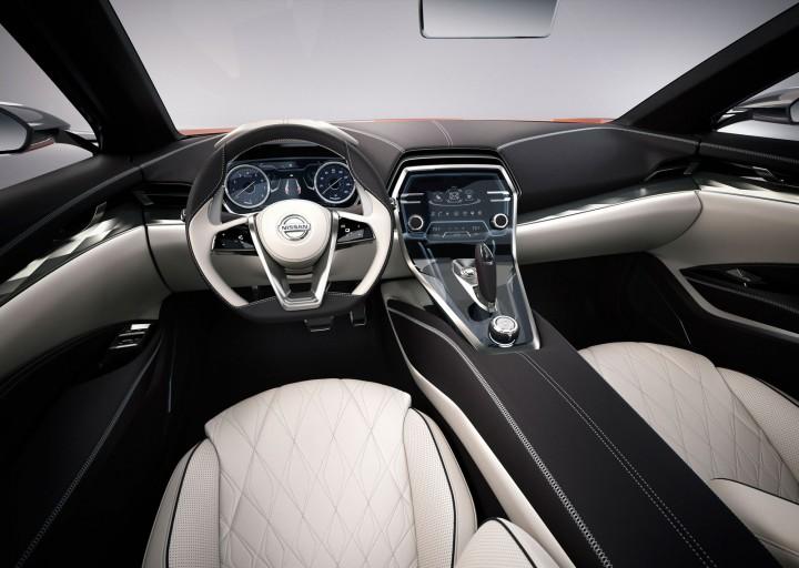 Nissan spot sedan concept front