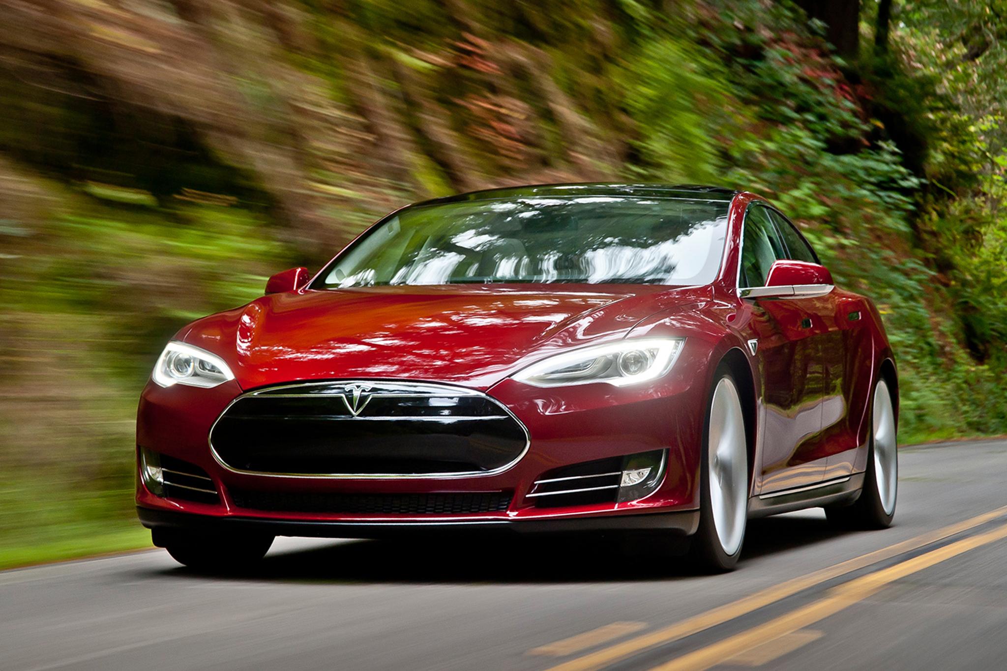 Tesla Model S Rijtest