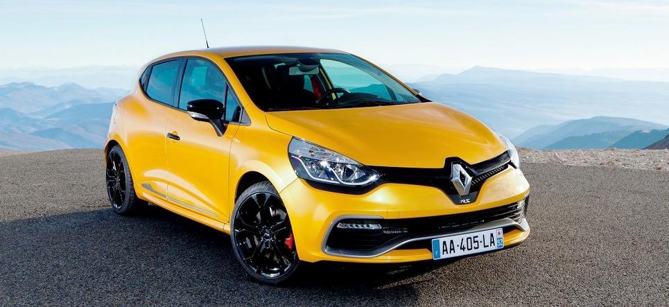 Renault Clio RS rijtest