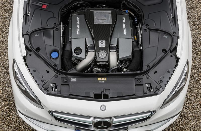 Mercedes bens s63 amg motor