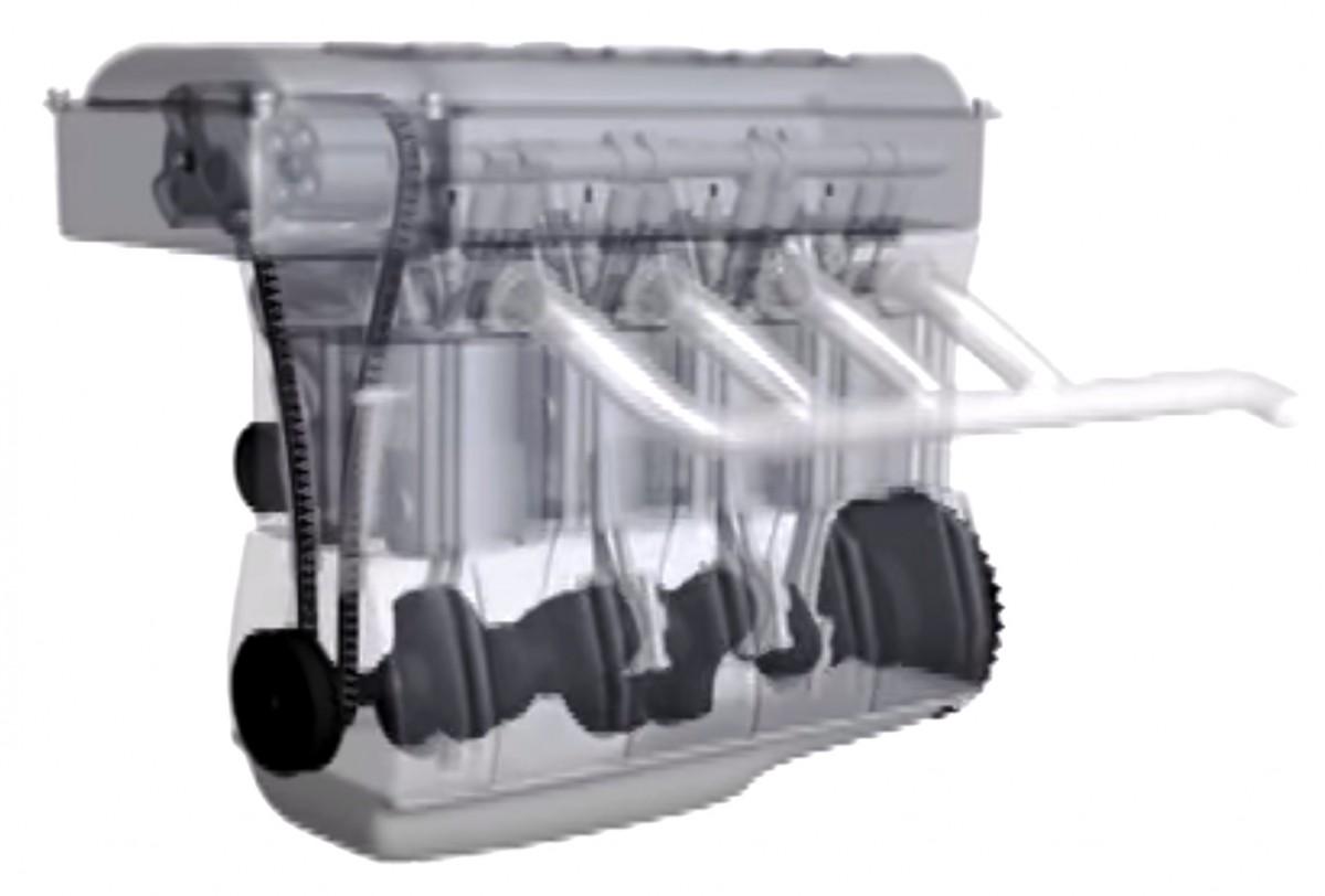 hoe werkt een benzine motor