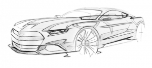 Ford-Mustang-Design-Sketch-by-Kemal-Curic-10-720x324